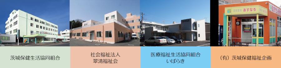 茨城県内の民医連事業所(4カ所)