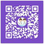 茨城民医連医学生室TwitterのQRコード